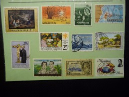 Mauritius Div Used Stamps. - Maurice (1968-...)