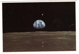 Apollo 11 -  Earth Rise (NASA P.c.) - Sterrenkunde