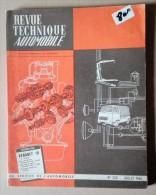 Revue Technique Automobile - N°243 - Annee:1966  - Renault 10 - Fiat 500 Et 500 D - Auto