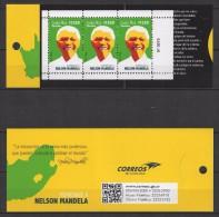 Costa Rica (2015) - Booklet -  /  Nelson Mandela - Nobel - Nobelprijs