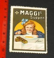 Werbemarke Cinderella Poster Stamp Maggi Suppen #1349 - Publicidad