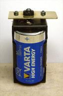 Boitier Pile  Pour Pendule Mère Brillié électrique. - Horloges