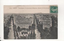 Paris Panorama Des Avenues Wagram Et Friedland - Zonder Classificatie