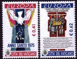 Europa - CEPT 2003 - Vatican - Yvert Nr. 1313/1314 - Michel  Nr. 1459/1460  ** - Europa-CEPT