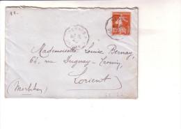 Convoyeur  Rennes à St Brieuc Mois En Lettres Ille Et Vilaine  Côtes Du Nord D´Armor - Posta Ferroviaria