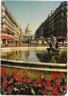 PARIS  (cpsm 75)   Place Edmond Rostand Et Le Panthéon    - - Panthéon