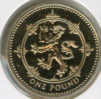 Grande Bretagne Great Britain 1 Pound 1994 Arme écossaise BU KM 967 - 1971-… : Monnaies Décimales
