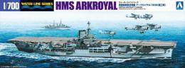 British Aircraft Carrier HMS Arkroyal  1/700 (  Aoshima ) - Boats