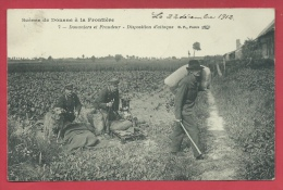 Scènes De Douane à Le Frontière Franco-belge - Douaniers Et Fraudeurs - Disposition D'attaque - 1912 ( Voir Verso ) - Douane