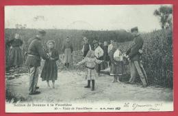 Scènes De Douane à Le Frontière Franco-belge - Douaniers - Visite De Pacotilleurs - 1913 ( Voir Verso ) - Douane