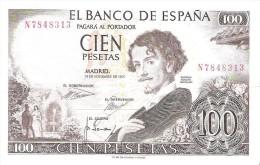 Spain - Pick 150 - 100 Pesetas 1965 - VF++ - [ 3] 1936-1975 : Regime Di Franco