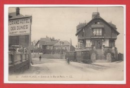 62  - PARIS PLAGE --  Entrée De La Rue De Paris - Le Touquet