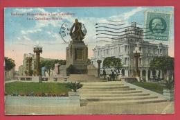 Cuba - Habana - Monumento A Luz Caballero - Luz Caballero Statue - 1921 ( Voir Verso ) - Cuba