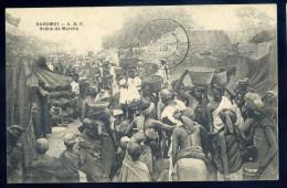 Cpa Dahomey AOF Scène De Marché   NOV15 16 - Dahomey