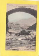 CPA  - Le Torrent De La TET Au Pont De La Llagonne (près De Mont Louis) - Carte Colorisée - éditeur Brun - France