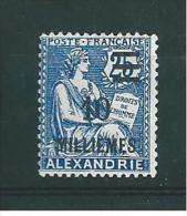 Colonie  Timbre D´Alexandrie  De 1925  N° 70 Neuf Sans Gomme - Neufs