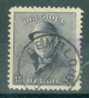 "BELGIE - OBP Nr 169 - Albert Met Helm/Roi Casqué - Gest./obl. Cachet ""GEMBLOUX"" - 1919-1920 Albert Met Helm"