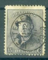 """BELGIE - OBP Nr 169 - Albert Met Helm/Roi Casqué - Gest./obl. Cachet """"WETTEREN"""" - 1919-1920 Albert Met Helm"""