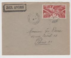 FAF125 / Madagaskar,  Siegesausgabe 1946 Per Luftpost Bach Paris - Briefe U. Dokumente