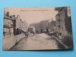 La Vilaine Et Le MOULIN De St. Hélier ( Sorel ) Anno 19?? ( SM / Zie Foto Voor Details ) !! - Rennes