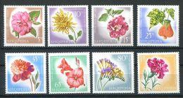 151 ALBANIE 1967 - Fleur Fleurs (Yvert 967/74) - Neuf ** (MNH) Sans Charniere - Albanië