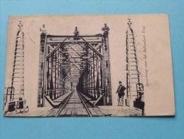 Spoorbrug Over Het HOLLANDSCH DIEP ( Gez. V. D. Post Moerdijk ) Anno 1910 ( Zie Foto Voor Details ) !! - Nederland