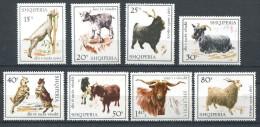 151 ALBANIE 1968 - Animaux Chevre (Yvert 1077/84) Neuf ** (MNH) Sans Charniere - Albanien