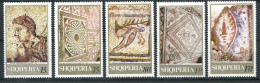 151 ALBANIE 1969 - Mosaique (Yvert 1211/15) Neuf ** (MNH) Sans Charniere - Albania