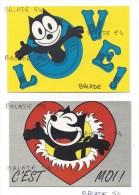 2 CPM - FELIX THE CAT (Félix Le Chat) Félix, C'est Moi ! Félix Love - Comicfiguren