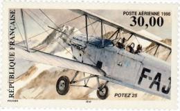 France Aérien 1998. ~  A 62** - Biplan Potez 25 - Posta Aerea
