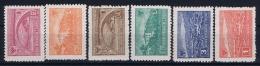 Albania:  Mi  Nr  379 - 384 MNH/** Postfrisch  1945 - Albania