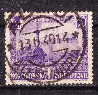 Treno Italia  Impero 1939 .Cent 50 Violetto-Usato - Eisenbahnen