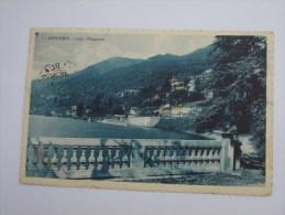 CARTOLINA.. OGGEBBIO. Lago Maggiore. VIAGGIATA 1928 - Verbania