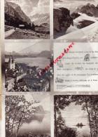 SUISSE - DEPLIANT TOURISTIQUE LAC DES QUTRE CANTONS- LUCERNE- ZUG-CHAM-KUSSNACHT-BECKENRIED-BRUNNEN-ARTH-GERSAU-WEGGIS- - Tourism Brochures