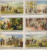Liebig 1952 Sanguinetti N. 1553 Storia D'Italia III (Italia) 5 Figurine € 3,50 - Liebig