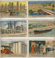 Liebig 1934 Sanguinetti N. 1298 Produzione Del Petrolio (Italia) € 5 - Liebig