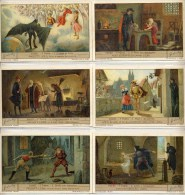 VARIETA' Liebig 1932 Sanguinetti 1260 Faust (Italia) - Cinque Figurine Senza Testo Al Verso - Liebig