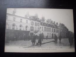 VILLERS COTTERETS AISNE LA PLACE DU MARCHE JANVIER 1915 LES PRISONNIERS ALLEMANDS - Villers Cotterets