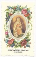 Santa Ninfa Vergine E Martire - 10 Novembre - Imágenes Religiosas