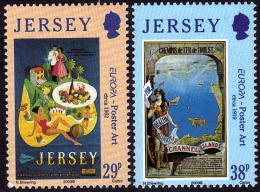 Europa - CEPT 2003 - Jersey - Yvert Nr. 1083/1084 - Michel  Nr. 1071/1072  ** - Europa-CEPT