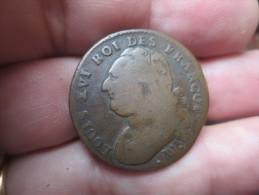 2 SOLS -1791-3- LOUIS XVI  - TTB+- VOIR PHOTOS - 1789 – 1795 Monedas Constitucionales