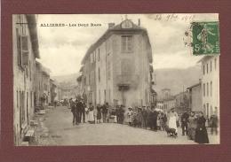 ALLIERES (09) - LES DEUX RUES - Francia