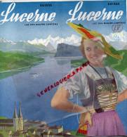 SUISSE - DEPLIANT TOURISTIQUE LUCERNE-1937- LAC DES QUATRE CANTONS - Dépliants Touristiques