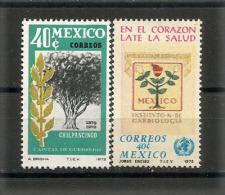 Mexique. Institut National De Cardiologie. L´Olivier.  2 T-p Neufs ** 1972 - Medicine