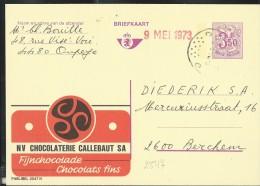 Publibel Obl. N° 2547 ( Chocolaterie CALLEBAUT) Obl: