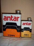 Ancien Bidons D'huile Antar - Voitures