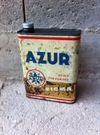 Bidon D'huile Ancien AZUR - Voitures