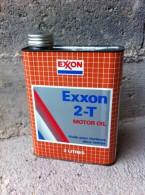 Bidon D´huile Ancien Exxon 2T - Voitures