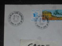 CHALON SUR SAONE COLOMBIERE AP - SAONE ET LOIRE - CACHET ROND MANUEL SUR YT 3073 - PALAIS VERSAILLES - - Marcophilie (Lettres)