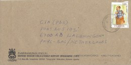 Uganda 2002 Mukono Mouth Organ Flute 1400/- Cover - Oeganda (1962-...)